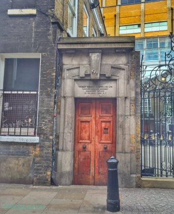 Truman, Hanbury, Buxton & Co. Door East End London | AliciaTastesLife.com