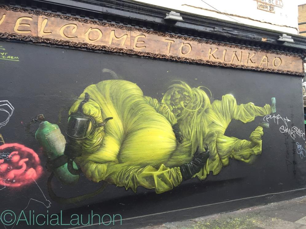 Welcome To KinKao Street Art East End, London | AliciaTastesLife.com
