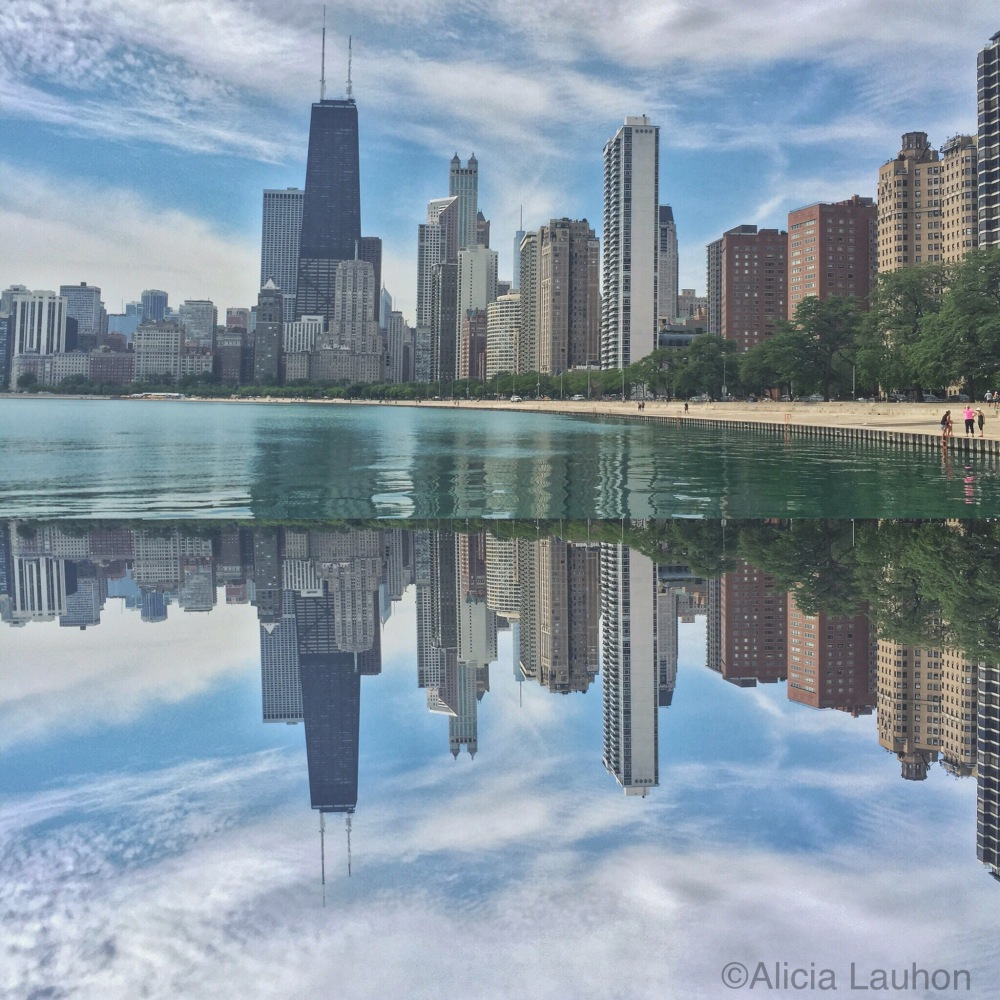 Summer In Chicago Reflection