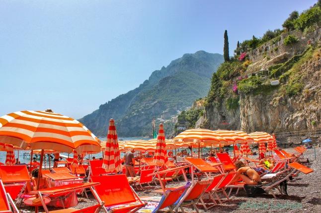 Arienzo Beach Club Positano Italy