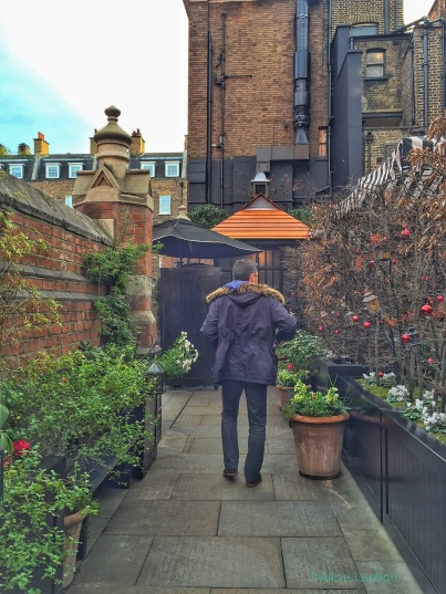 Chiltern Firehouse London Patio