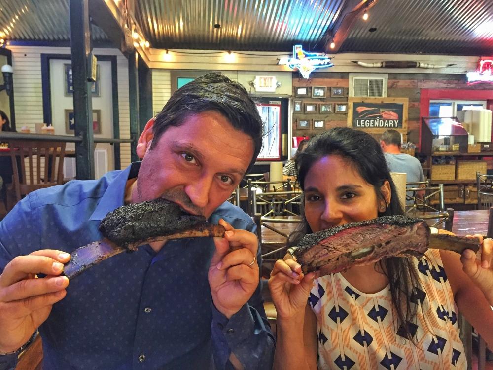 Austin Terry Black's BBQ Beef Ribs