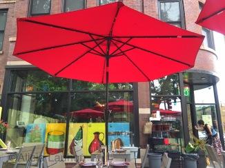 Mi Tocaya Patio Umbrella Chicago