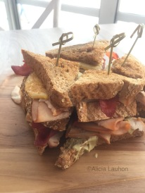 Shore Club Chicago Club Sandwich
